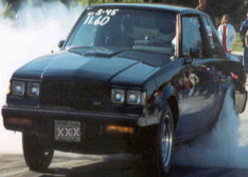 1987 Gran National Burnout