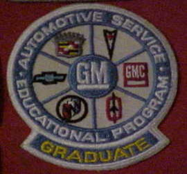 Automotive Service Education Program Patch