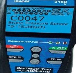 ABS brake pressure code