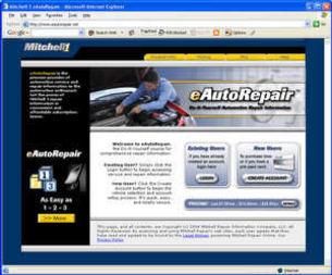 Mitchell online service manuals