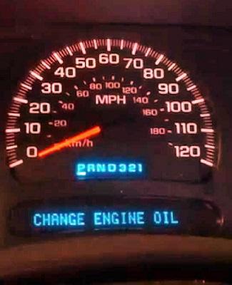 Chevrolet maintenance reminder light