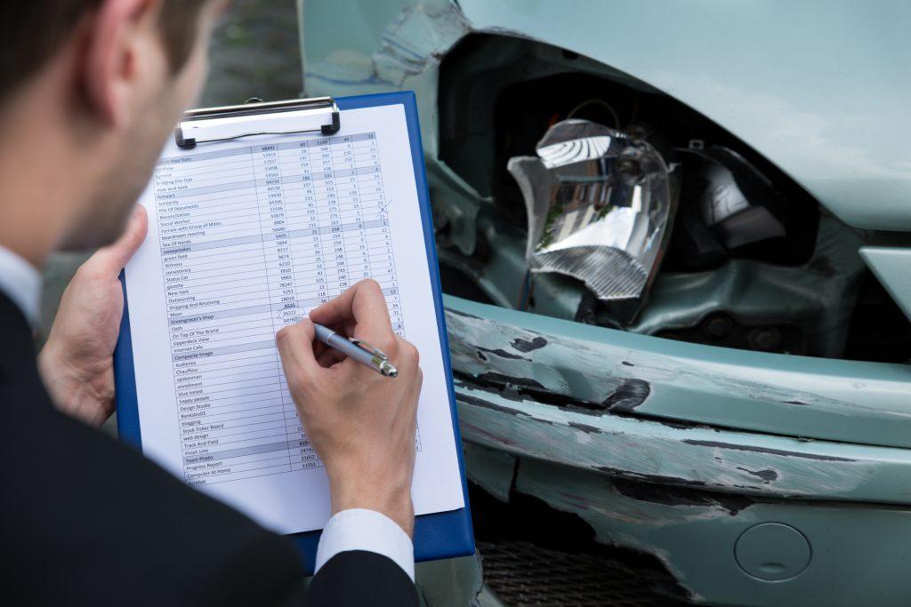 car damage estimate