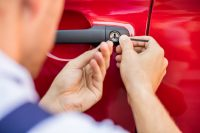 how to unlock a car door